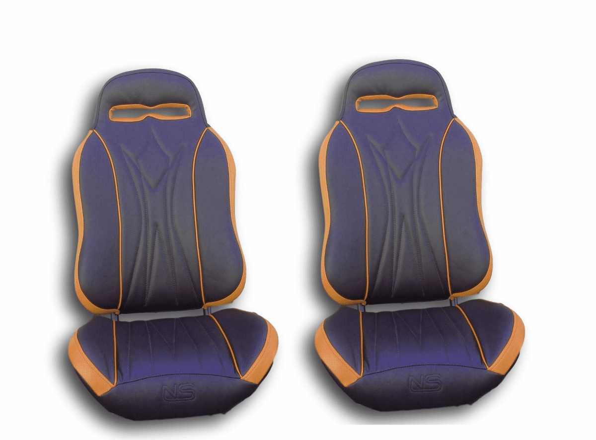 UTVGiant Apex 2.0 Seats - Orange