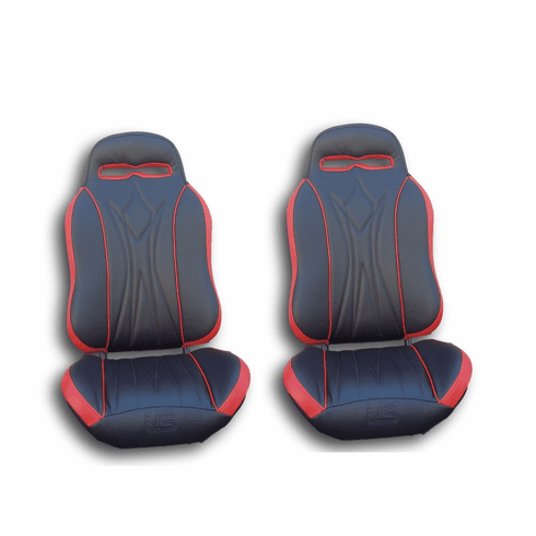 UTVGiant Apex 2.0 Seats - Red *One week lead time*