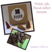 Witch Oils incense cones