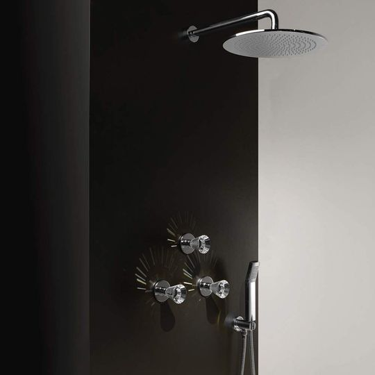 Artik Complete Shower System Polished Chrome