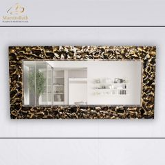 Lucent Black and Gold  High End LED Mirror