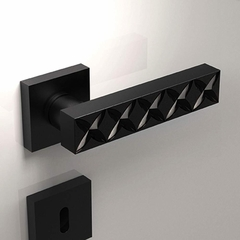 Fancy Door Handle | Black