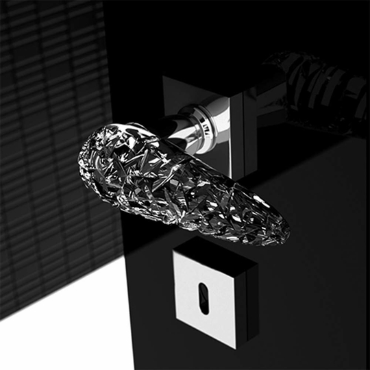 Hand Cut Luxury Crystal Door Handle