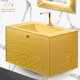 Integrated Glass Top Vanities