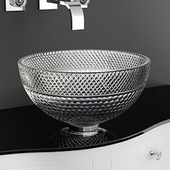 Italian Crystal Vessel Sink