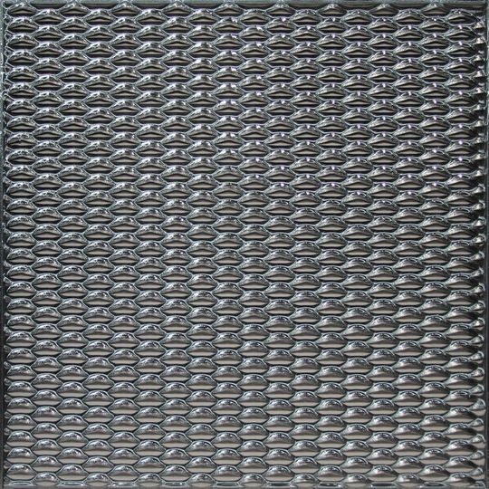 Lucent Luxury Tile | Grey-smoker Silver