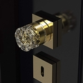 Luxury Crystal Door Knob | Gold