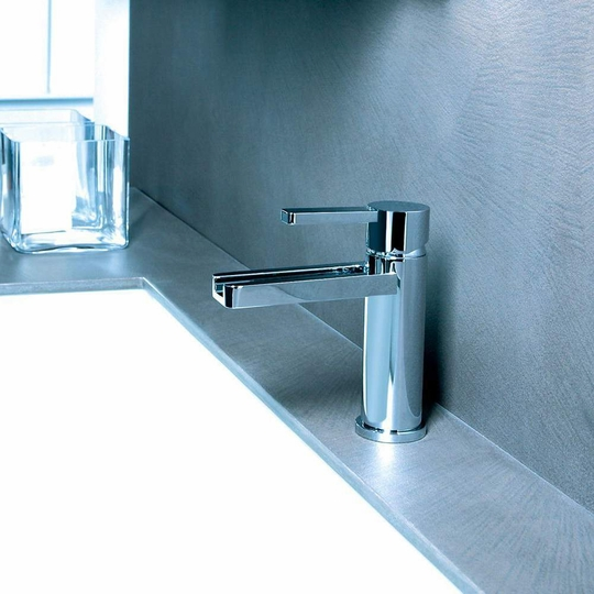 Modern Chrome Bathroom Faucet