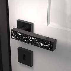 Modern Crystal Door Handles