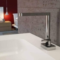 Modern Italian Bathroom Sink Faucet | Polished Chrome