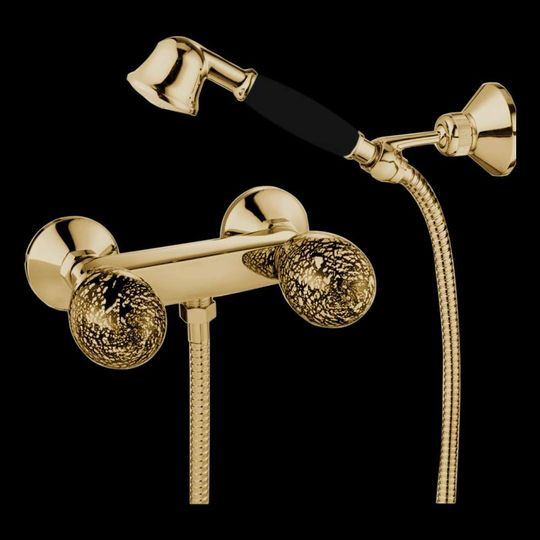 Murano Tub Filler Polished Gold