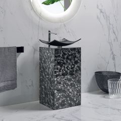 Nook Luxury Crystal Black Vanity