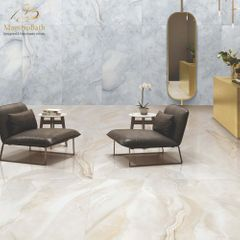 Pearl Luxury Tile | White and Gold