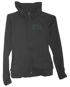 SMA Ladies Full Zip Jacket, Black