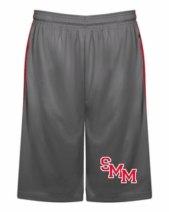 SMM Mustangs Adult Tonal Blend Shorts