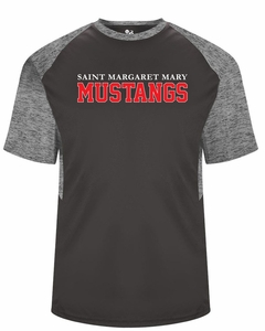SMM Mustangs Tonal Blend Youth Performance T-shirt
