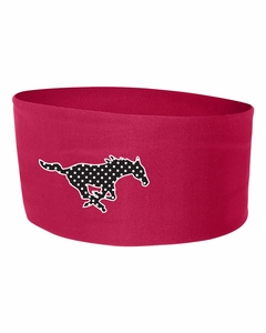 SMM Mustangs WIDE Headband