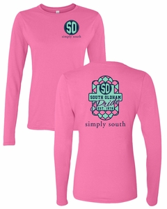 SOMS Simply South Ladies L/S Tee