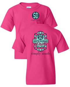 SOMS Simply South Youth tee