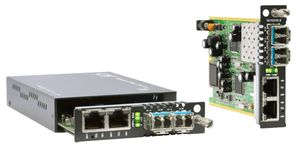 FRM220-10/100iS-2, Dual FE Channel Managed Converter