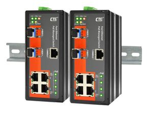 IFS-402GSM-4PH24, Managed FE PoE Switch