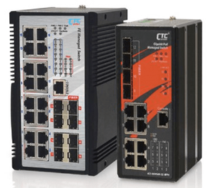 IGS-1608SM-SE-8PH, IGS-804SM-SE-8PH  16x(8x) 10/100/1000Base-T + 8x(4x) 100/1000Base-X SFP with SyncE and 8x PoE