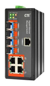 IGS-404SM-E, Industrial Managed Gigabit Switch