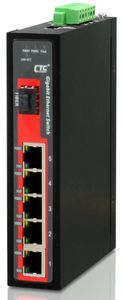 IGS-501S, Non-Managed 5-Port Gigabit Industrial Fiber Switch
