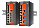 IGS-803SM-E, Managed Industrial Gigabit Switch with 8 GE + 3 SFP Ports