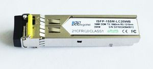 ISFP-155M-LC20WB, Rugged SFP Module for 155M WDM T1550/R1310 and 20Km
