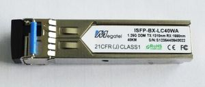 ISFP-BX-LC40WA, Rugged SFP Module for 1.25G WDM T1310/R1550 and 40Km