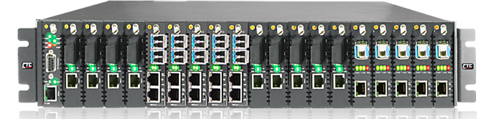 Rack media converter redundant AC power supply FRM220-AC for FRM220-CH20 chassis