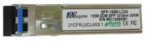 SFP-155M-LC20, 155M, SM, LC, up to 20Km