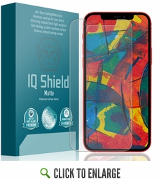 (2-Pack) Apple iPhone 12 Matte Screen Protector (6.1 inch)(Edge to Edge)