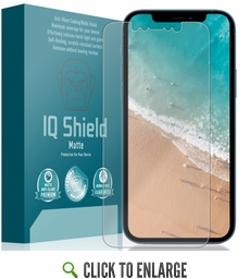 (2-Pack) Apple iPhone 12 Pro Max Matte Screen Protector (6.7 inch)(Edge to Edge)