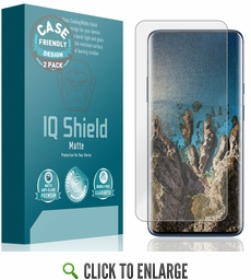 (2-Pack) OnePlus 7 Pro Matte (Case Friendly) Screen Protector