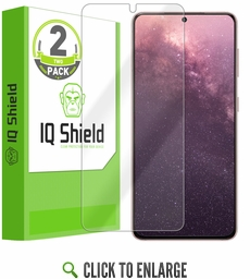 (2-Pack) Samsung Galaxy S21 LiQuid Shield (Max Coverage) Screen Protector (6.2 inch)[Works with Fingerprint Scanner]