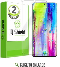 (2-Pack) Samsung Galaxy S21 Ultra LiQuid Shield (Max Coverage)[Works with Fingerprint Scanner] Screen Protector (6.8 inch)