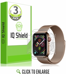 [3-Pack] Apple Watch Series 5 LiQuid Shield Full Body Skin Protector (40mm)(Compatible w/ Apple Watch Series 6)