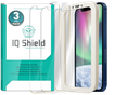 [3-Pack] IQ Shield� Tempered Glass � Apple  iPhone 12 Glass Screen Protector (6.1 inch) compatible with Apple iPhone 12 Pro