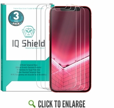 [3-Pack] IQ Shield® Tempered Glass – Apple iPhone 12 Pro Max Glass Screen Protector (6.7 inch)