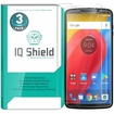 [3-Pack] IQ Shield� Tempered Glass � Moto Z3 Play Glass Screen Protector