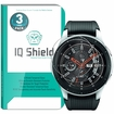 [3-Pack] IQ Shield� Tempered Glass � Samsung Galaxy Watch Glass Screen Protector (46mm)