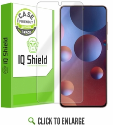 (3-Pack) Samsung Galaxy S21 Plus LiQuid Shield (Case Friendly) Screen Protector (6.7 inch, S21+)[Works with Fingerprint Scanner]