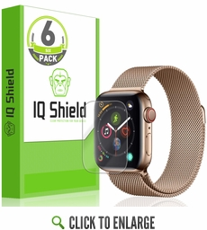 (6-Pack) Apple Watch Series 5 LiQuid Shield Screen Protector (44mm)(Compatible w/ Apple Watch Series 6)