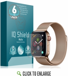 (6-Pack) Apple Watch Series 5 Matte Screen Protector (44mm)(Compatible w/ Apple Watch Series 6)