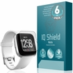 (6-Pack) Fitbit Versa [Lite Edition Compatible] Matte Screen Protector