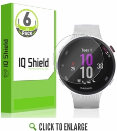(6-Pack) Garmin Forerunner 45S LiQuid Shield Screen Protector (39mm)