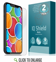 Apple iPhone XR Matte Screen Protector [Max Coverage](6.1