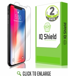 Apple iPhone XS LiQuid Shield Screen Protector [Max Coverage](5.8